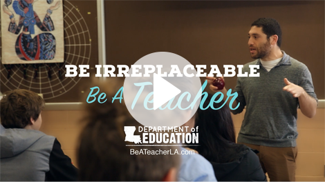 Be A Teacher LA Video Thumbnail