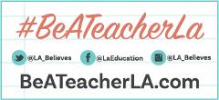 BeATeacherLA.com Web Button