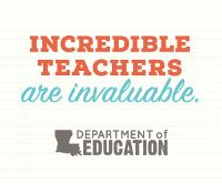 Incredible teachers are invaluable. 300x250 Web Banner