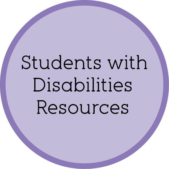 Students with Dissabilities Resources