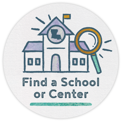 Find a School or Center via Louisiana School Finder