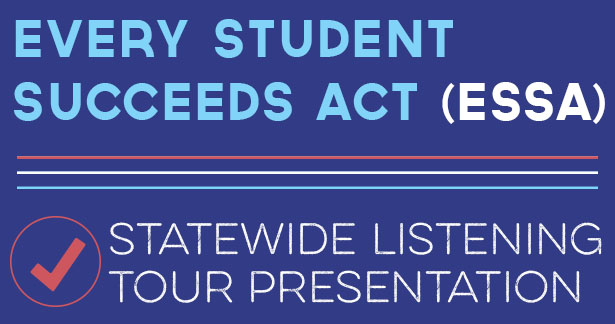 Every Student Succeeds Act (ESSA) - Statewide Listening Tour Presentation