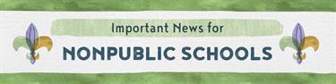 Nonpublic School Choice Newsletter Header