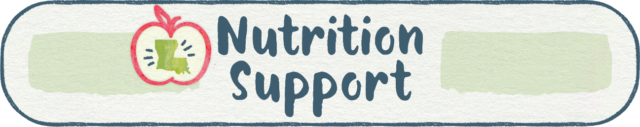 Nutrition Support Web Header Graphic