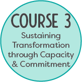 Course 3: Sustaining Transformation through Capacity and Commitment