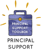 Principal Support Toolbox Button